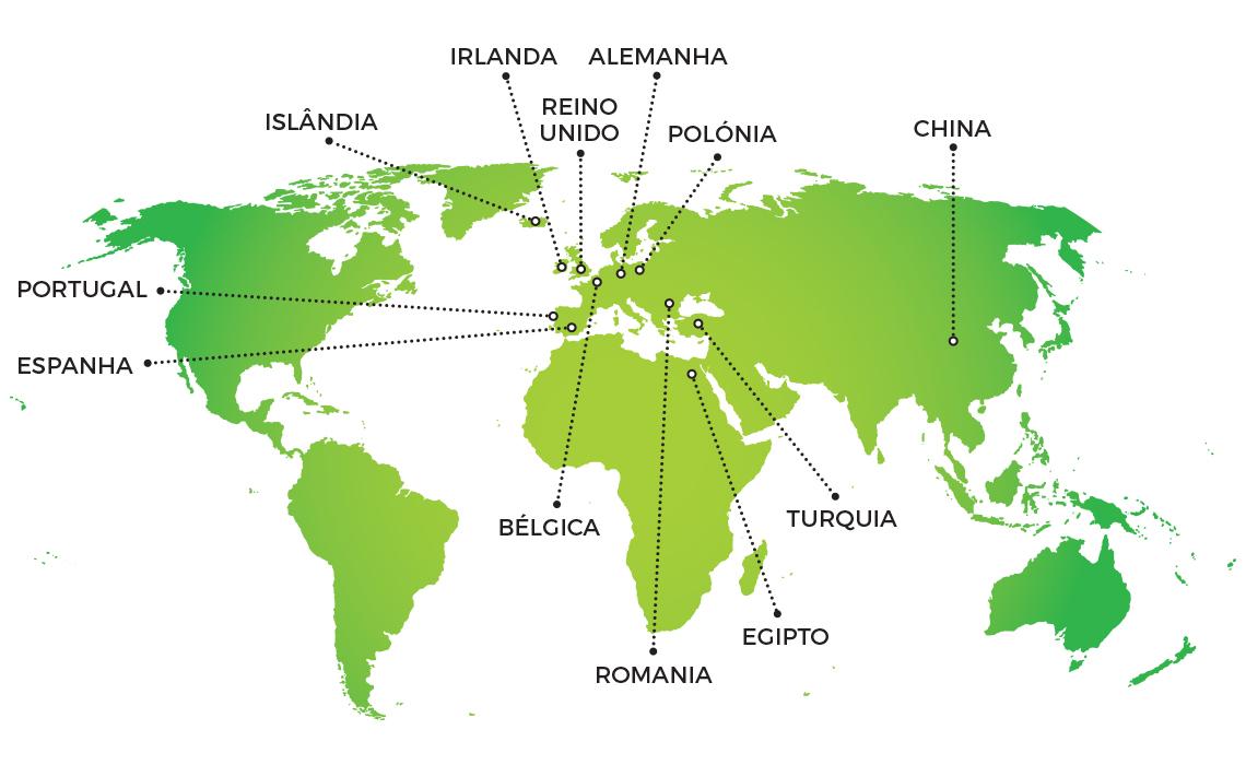 Mapa Portugues